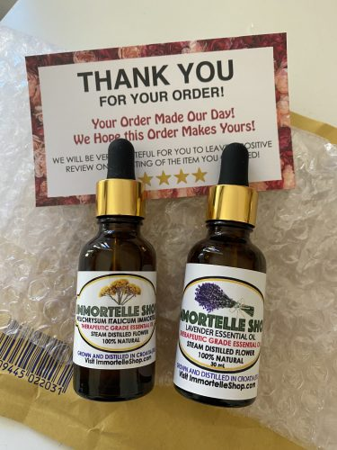 30 ml Immortelle Essential Oil with Dropper photo review
